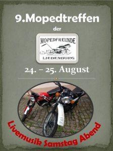 Plakat Mopedtreffen Bild